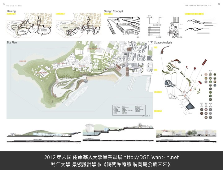 辅仁大学 景观设计学系 时间轴转移 航向马公新未来